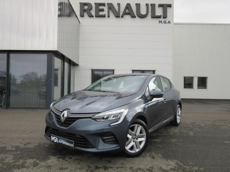 Renault CLIO V 1.0 TCE 100CH BUSINESS - 20 Essence GRIS TITANIUM Occasion à vendre