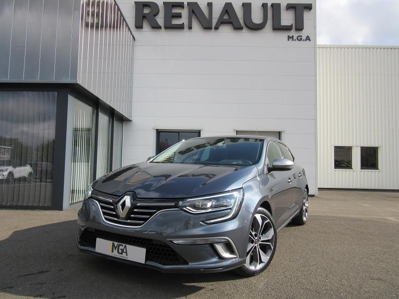Renault MEGANE IV BLUE DCI 115 EDC INTENS GT LINE -31% Diesel GRIS TITANIUM Occasion à vendre