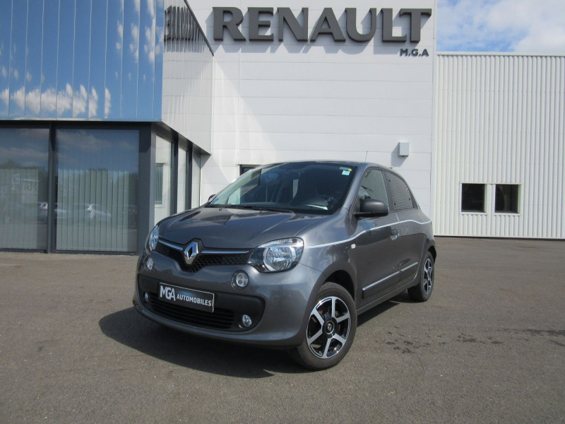 Renault TWINGO III 0.9 TCE 90CH ENERGY INTENS EURO6C Essence GRIS CASSIOPE Occasion à vendre