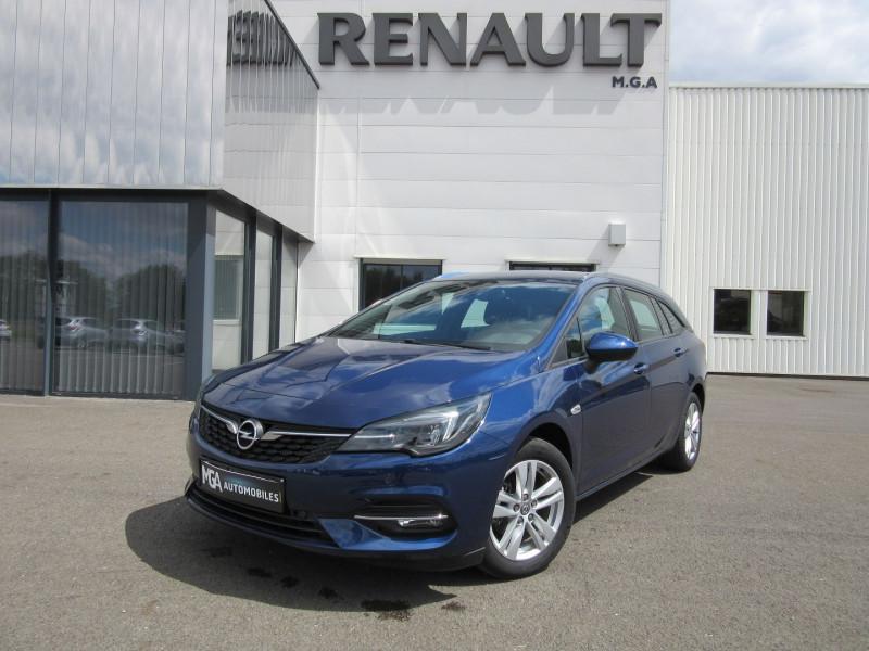 Opel ASTRA SPORTS TOURER 1.2 TURBO 145CH GSLINE GPS CAMERA -34% Essence BLEU NAUTIQUE Occasion à vendre