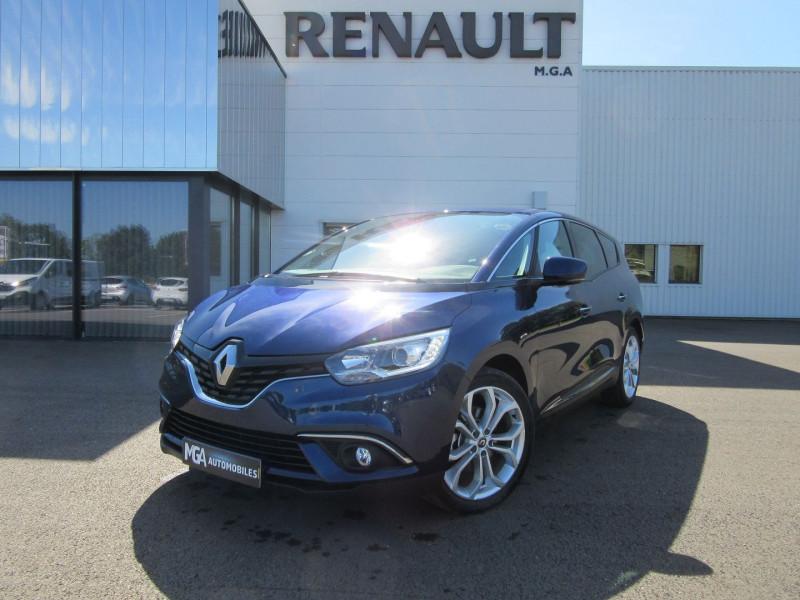 Renault GRAND SCENIC IV 1.7 BLUE DCI 120CH BUSINESS 7 PLACES Diesel BLEU COSMO Occasion à vendre