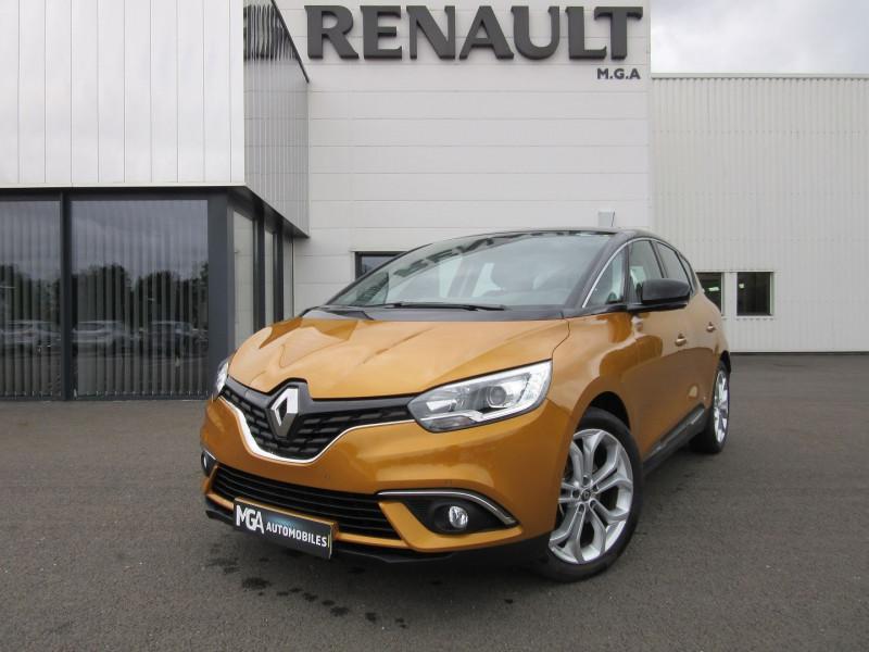 Renault SCENIC IV DCI 110 ENERGY BUSINESS EDC + CAMERA Diesel JAUNE Occasion à vendre