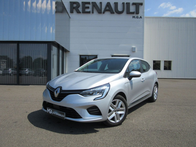 Renault CLIO V 1.0 TCE 100CH BUSINESS - 20 Essence GRIS PLATINE Occasion à vendre