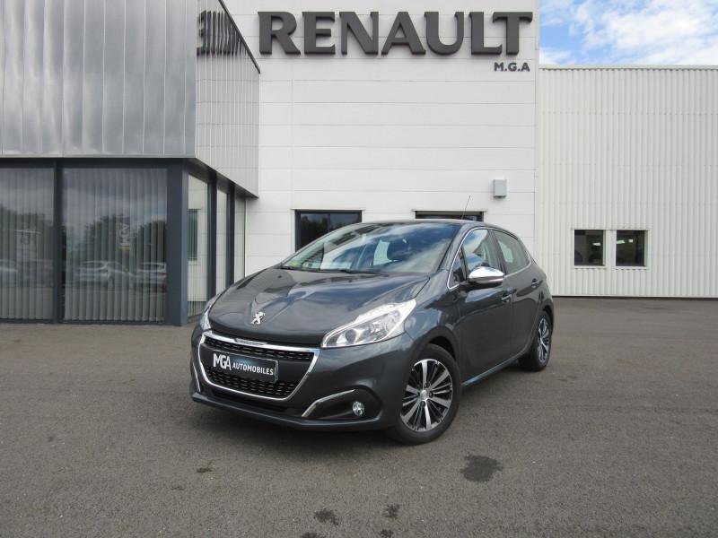 Peugeot 208 1.6 BLUEHDI 100CH ALLURE 5P Diesel GRIS FONCE Occasion à vendre