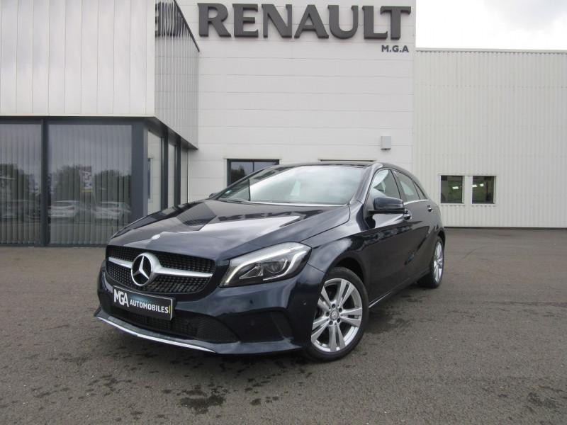 Mercedes-Benz CLASSE A (W176) 180 D SENSATION 7G-DCT Diesel BLEU FONCE Occasion à vendre