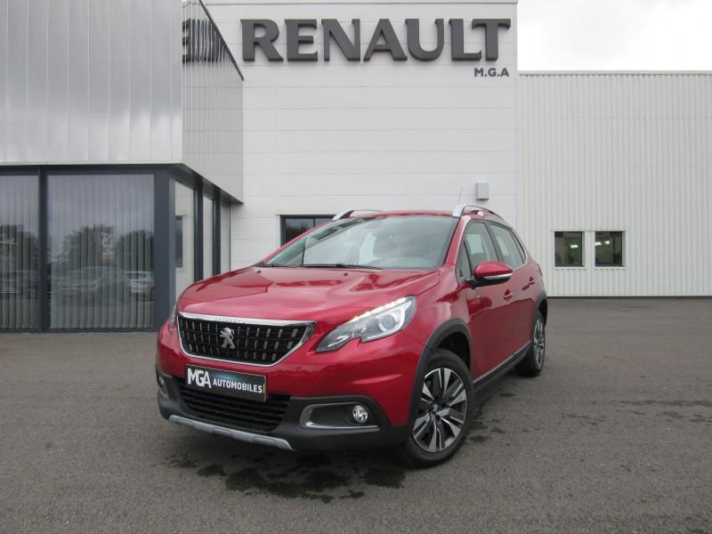 Peugeot 2008 1.2 PURETECH 110CH ALLURE S&S EAT6 Essence ROUGE Occasion à vendre