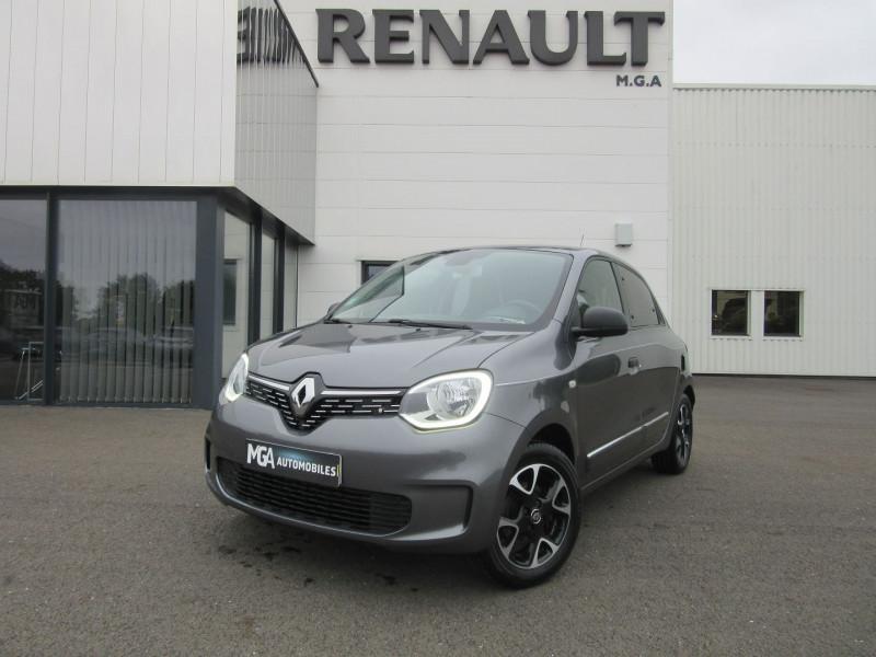 Renault TWINGO III 0.9 TCE 95CH INTENS Essence GRIS TITANIUM Occasion à vendre