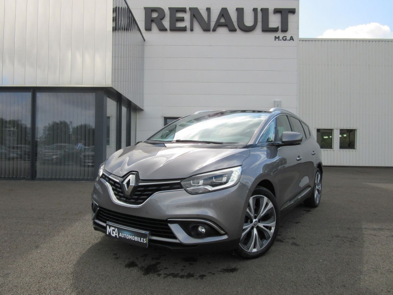 Renault GRAND SCENIC IV 1.5 DCI 110CH ENERGY INTENS EDC Diesel GRIS CASSIOPE Occasion à vendre