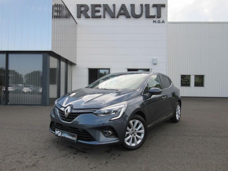 Renault CLIO V 1.3 TCE 130CH FAP INTENS EDC Essence GRIS TITANIUM Occasion à vendre