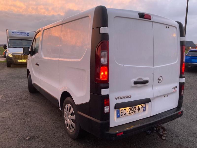 Photo 4 de l'offre de OPEL VIVARO FG F2700 L1H1 1.6 CDTI 115 PACK CLIM + à 14340€ chez Garage Leboeuf