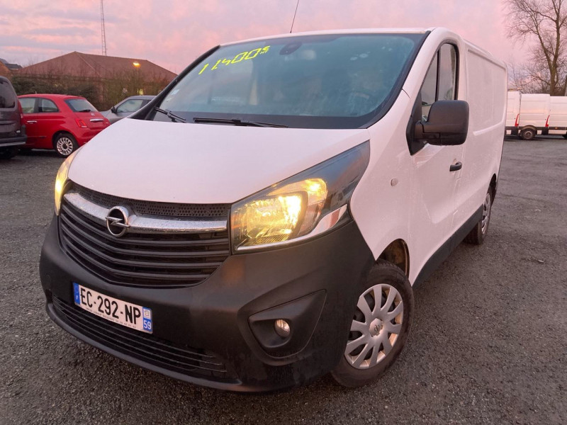 Opel VIVARO FG F2700 L1H1 1.6 CDTI 115 PACK CLIM + Diesel BLANC Occasion à vendre