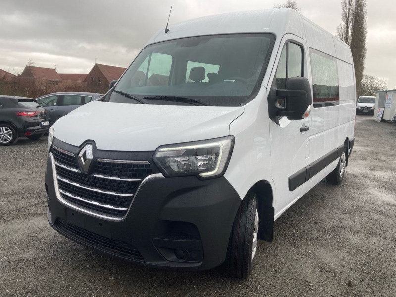 Renault MASTER III FG F3300 L2H2 2.3 DCI 135CH CABINE APPROFONDIE GRAND CONFORT EURO6 Diesel BLANC Occasion à vendre